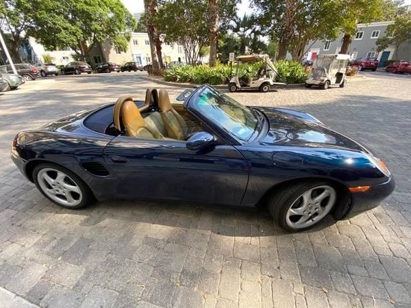 Photo Porsche Boxster 2000 in Ocean Blue Metallic Color with Savanna Beige L - $14,999 (Vail Colorado)