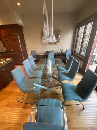Photo Roche Bobois Dining Table and Chairs - $5,000 (Beaver Creek)