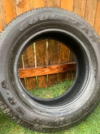 Photo Set of Goodyear Wrangler Tires - $50 (Frisco)
