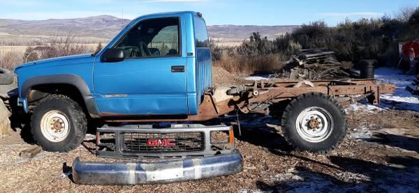 Photo Truck Parts 1995 GMC 34T - $500 (NW Colorado)