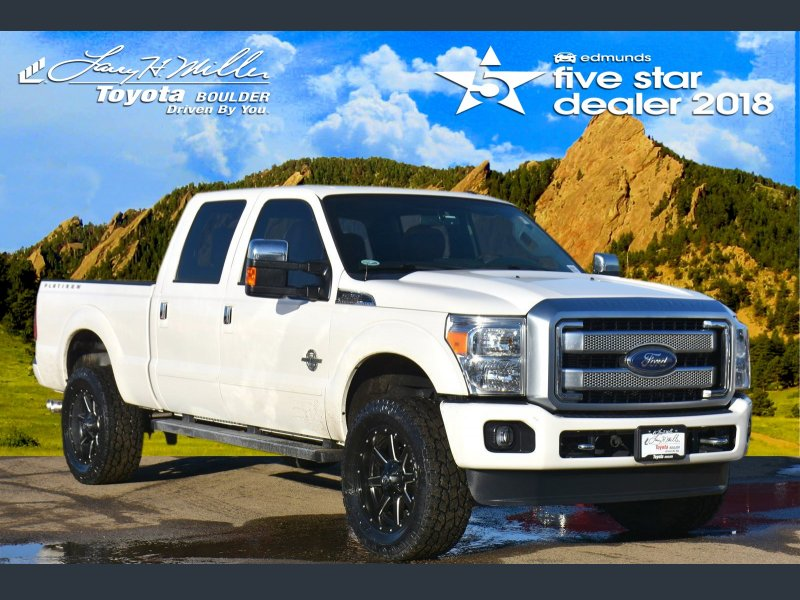Photo Used 2013 Ford F250 Platinum for sale