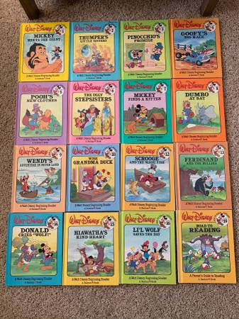 Walt Disney Fun-To-Read Library Book Collection - Hard Cover - $5 (Broomfield - Walt Disney Fun-To-Read Library Collection)