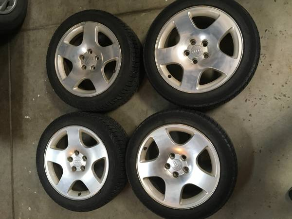 Photo Winter Tires and rims for sale 17 inch - $300 (Beaver Creek)