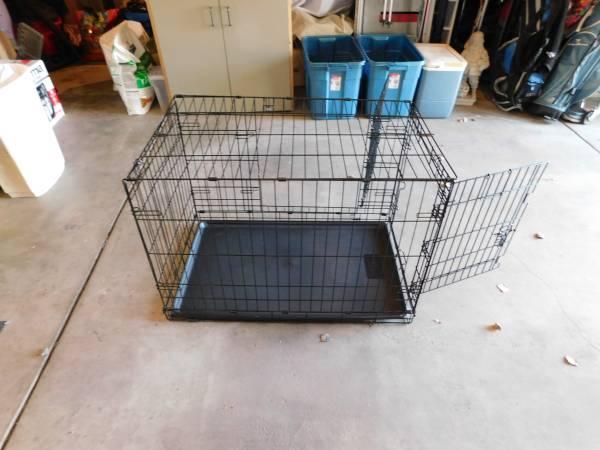 Photo dog kennel for sale - $75 (GYPSUM)