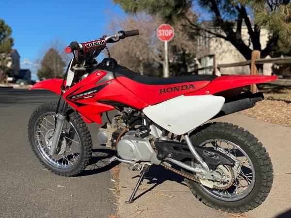 Photo honda crf70r dirt bike - $1,400 (aurora)