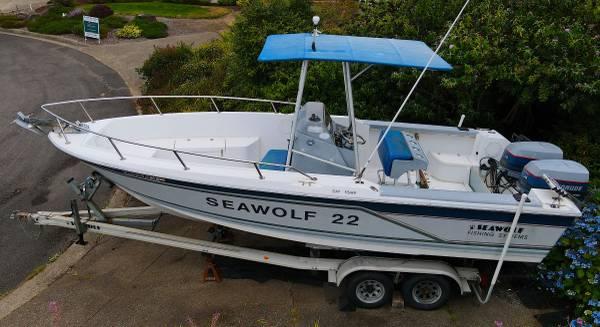 Photo 1988 Watkins Seawolf 22 Offshore Center Console Fishing - Dive Boat - $10,000 (Newport)
