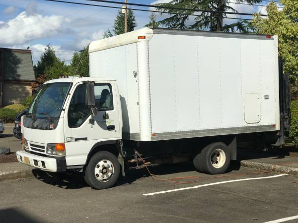 Photo 1996 Chevrolet Tilt Master Box Van - $3,995 (Roseburg)