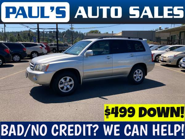 Photo 2002 TOYOTA HIGHLANDER LIMITED 4X4 - $7,990 (BAD CREDIT IS NO PROBLEM HERE)