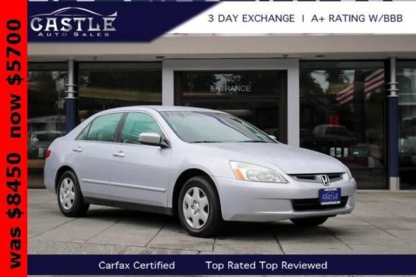 Photo 2005 Honda Accord LX Sedan - $76 (Est. payment OAC)