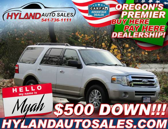Photo 2010 FORD EXPEDITION 4X4, 3rd ROW EDDIE BAUER  HYLAND AUTO SALES - $13,495 (TRUE IN-HOUSE FINANCING THAT CAN HELP REBUILD YOUR CREDIT)