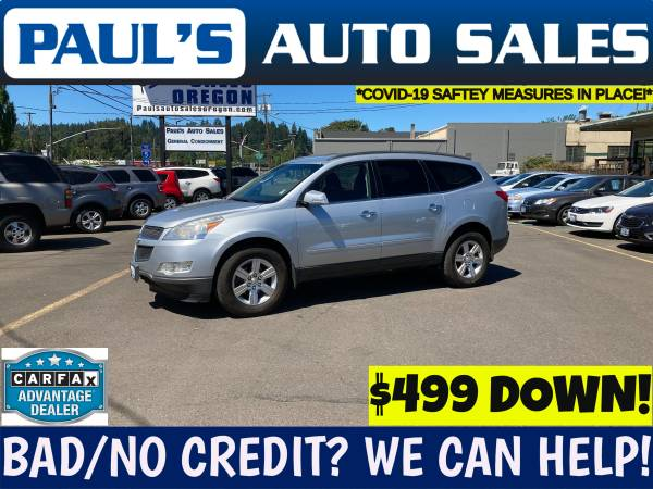 Photo 2012 CHEVY TRAVERSE LT AWD - $11,990 (BAD CREDIT IS NO PROBLEM HERE)