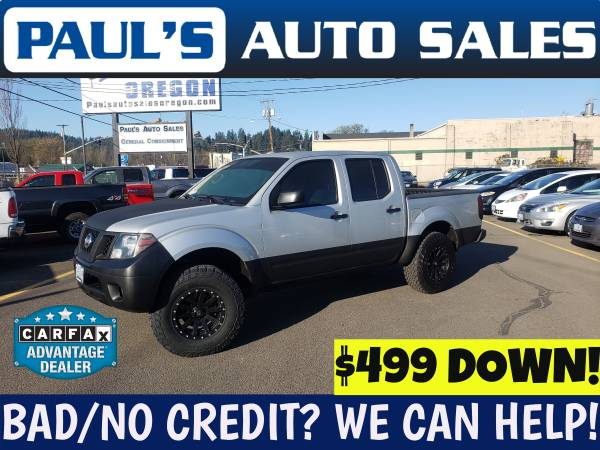 Photo 2012 NISSAN FRONTIER CREW CAB 4X4 ONLY 95,280 MILES - $14990 (FINANCING IS EASY HERE)