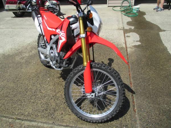 Photo 2017 Honda CRF250L - $5,250 (Florence)