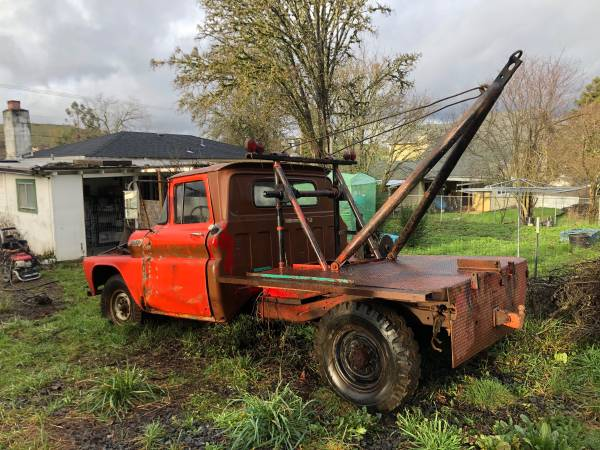 Photo 62 Chevy tow truck rat rod project - $800