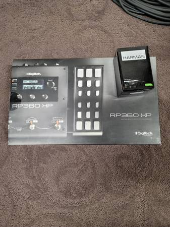 Photo Digitech RP 360 with power supply - $140 (Bend)