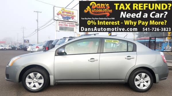 Photo Easy Approval No Credit Checks 2007 Nissan Sentra 2.0 Gas Saver - $999 (DOWN$299 Interest FREE Financing for 13 Months  Ownership)