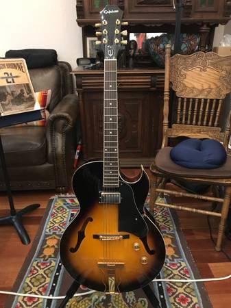 Photo Epiphone Zephyr Regent VS Hollow Body Electric Guitar - $550 (Eugene)