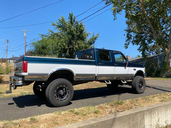 Photo For Sale 1995 F350 Old Body Style 7.3 Powerstroke - $14,500 (Roseburg)