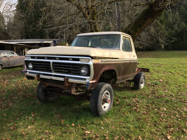Photo Ford 4x4 1979 short bed (Glendale)