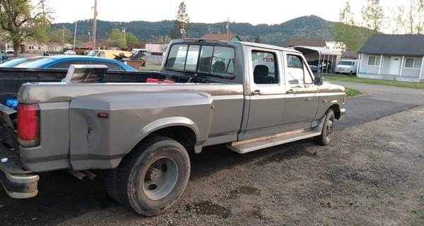 Photo Ford f350 dually super crew - $700 (Sutherlin)