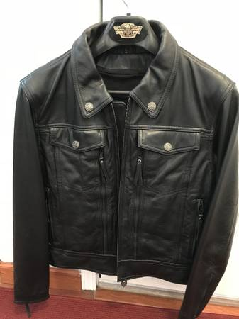 Photo Harley Davidson Leather Motorcycle Jacket - $125 (Roseburg)
