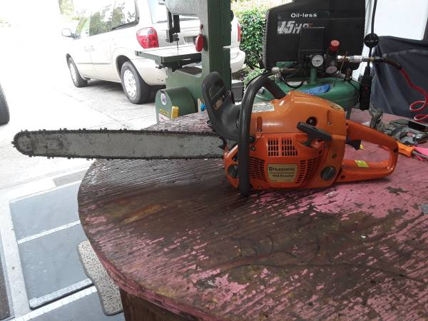 Photo Husqvarna 455 rancher - $350 (Roseburg ore)