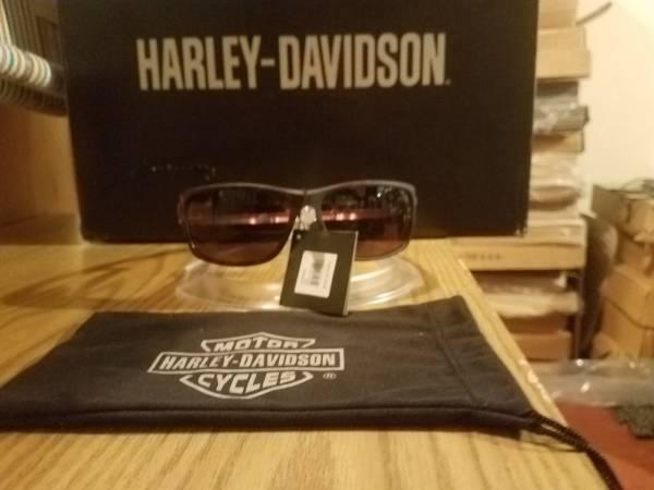 Photo NEW Harley Davidson Men39s Sport Wrap Sunglasses Tortoise AUTHENTIC - $40 (Roseburg)