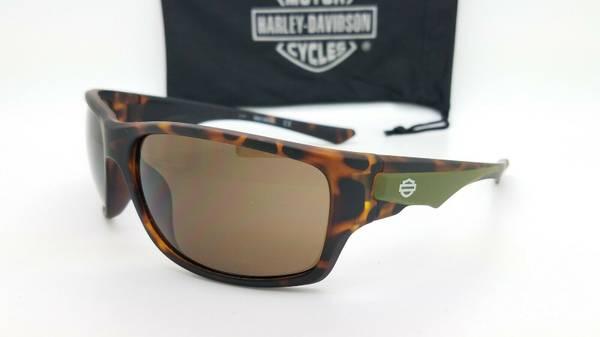 Photo NEW Harley Davidson Men39s Sport Wrap Sunglasses Tortoise AUTHENTIC - $35 (Roseburg)