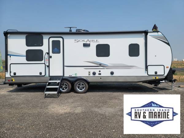 Photo New to Southern Idaho RV  Marine 2021 Solaires by Palomino - $33,495 (Jerome EASY FINANCING AVAILABLE)