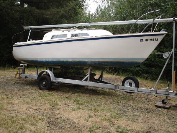 Photo O39Day 22 Sailboat - $3,500 (Coquille)