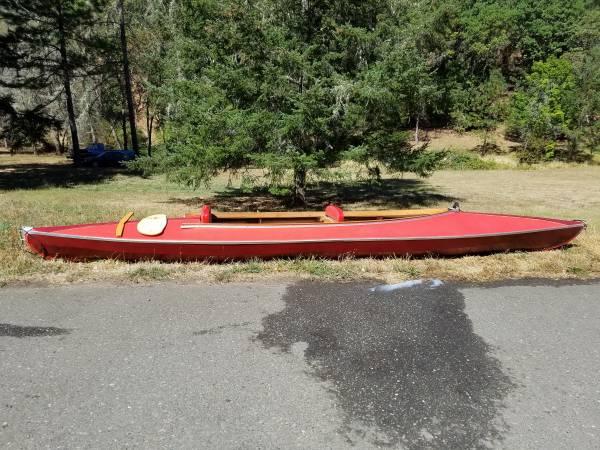 Photo Vintage Folbot Nonfolding Tandem Kayak - $750 (Roseburg)