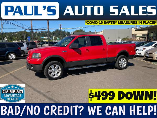 Photo 2008 FORD F150 FX4 SUPER CREW 4X4  SALE  - $12,990 (BAD CREDIT IS NO PROBLEM HERE)