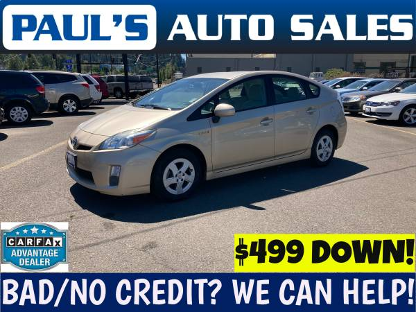 Photo 2010 TOYOTA PRIUS HYBRID  ONE OWNER LOW MILES  - $11,990 (BAD CREDIT IS NO PROBLEM HERE)