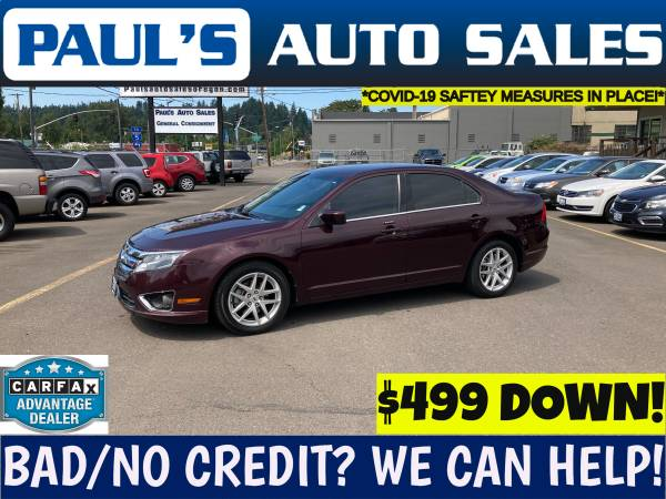Photo 2011 FORD FUSION SEL SEDAN  - $8,990 (BAD CREDIT IS NO PROBLEM HERE)