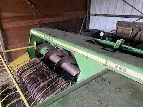 Photo bailer, john deer wrake option - $1,200 (melrose)