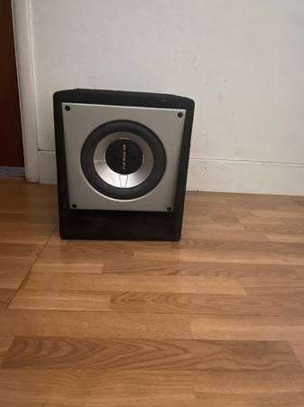 Photo 10 inch Orion subwoofer - $200 (Carlsbad)