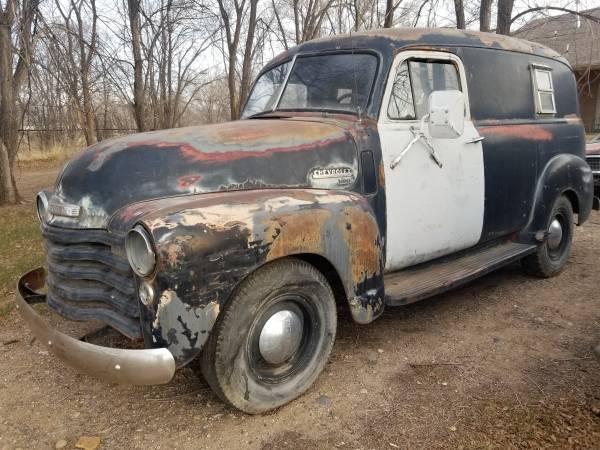 Photo 1949 Chevy Panel truck - $8,500 (Los Lunas)