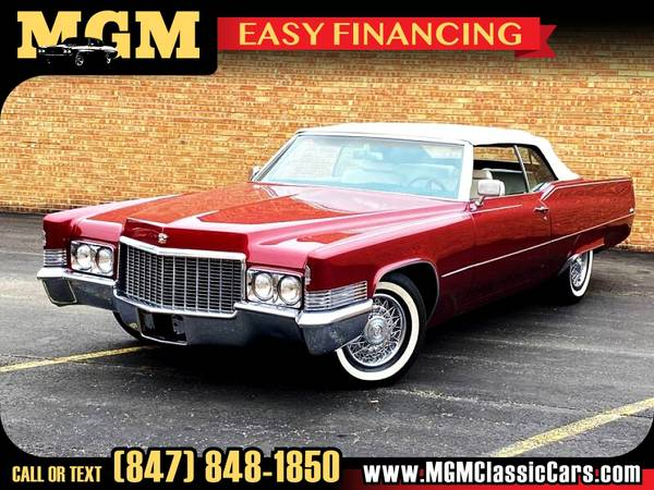 Photo 1970 CADILLAC DEVILLE Coupe for ONLY $30,000 - $30,000 (Addison IL)