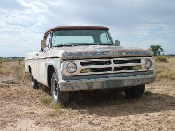 Photo 1971 DODGE D100 318, 4-Speed - $1000 (Roswell,NM)