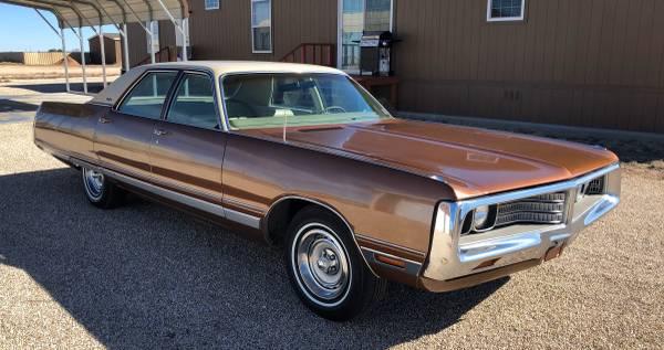 Photo 1972 Chrysler New Yorker - $4250 (Hobbs)