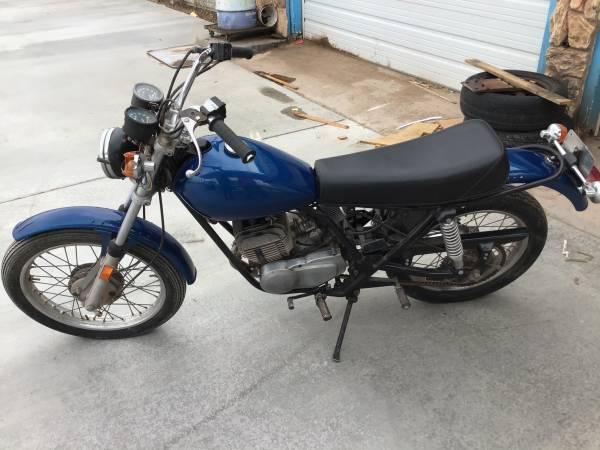 Photo 1976 HarleyDavidson SS250 - $1,700 (Holbrook)