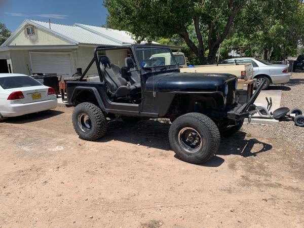 Photo 1983 Jeep CJ7 For Sale or Trade 5k obo - $5,000