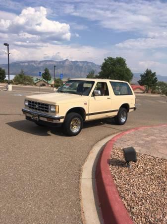 Photo 1985 Chevy S-10 Tahoe Blazer SUV - $3,950 (Rio Rancho,NM)