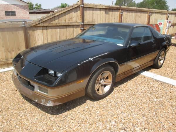 Photo 1986 Chevy IROC Camaro - $12,000 (roswell)