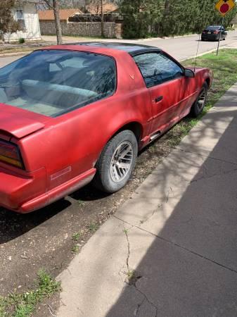 Photo 1991 Pontiac Firebird - $2000 (Roswell)