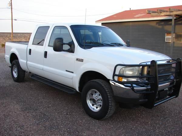Photo 2002 Ford F-250 7.3 Diesel 4x4 Crew - $10,500 (Van Horn Tx)