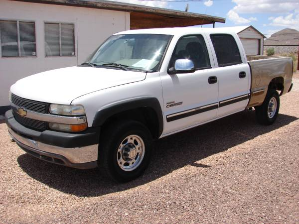 Photo 2002 Silverado 2500HD Diesel 4x4 - $3995 (Van Horn Tx)