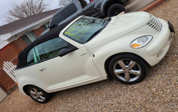 Photo 2005 pt cruiser V4 convertible ( Salvage Title ) - $4,950 (Roswell NM)