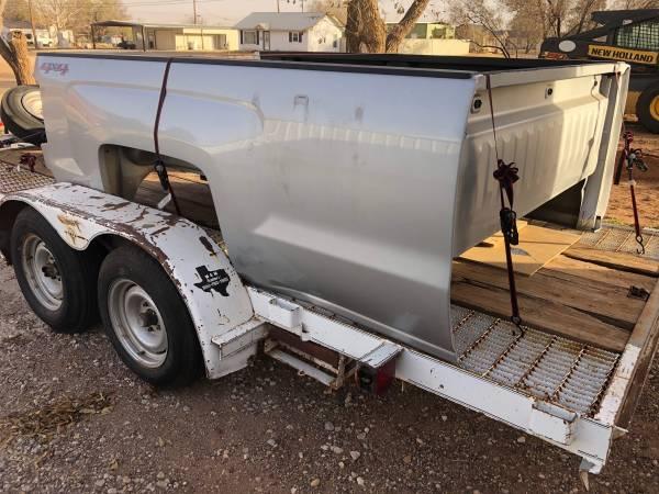 Photo 2015 Chevy Silverado 2500 Bed - $2,500 (Lubbock)