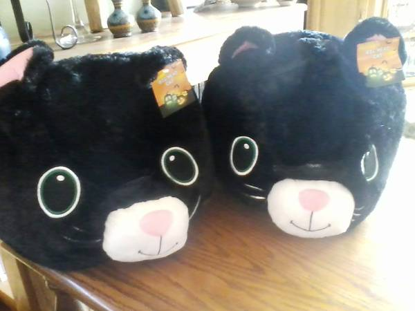 Photo 2 Adult Big Cat Head Costume Brand New Never Used - - $15 (Albuquerque East Mountains Edgewood)